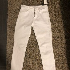 Current Elliot white womens jeans brand new size25